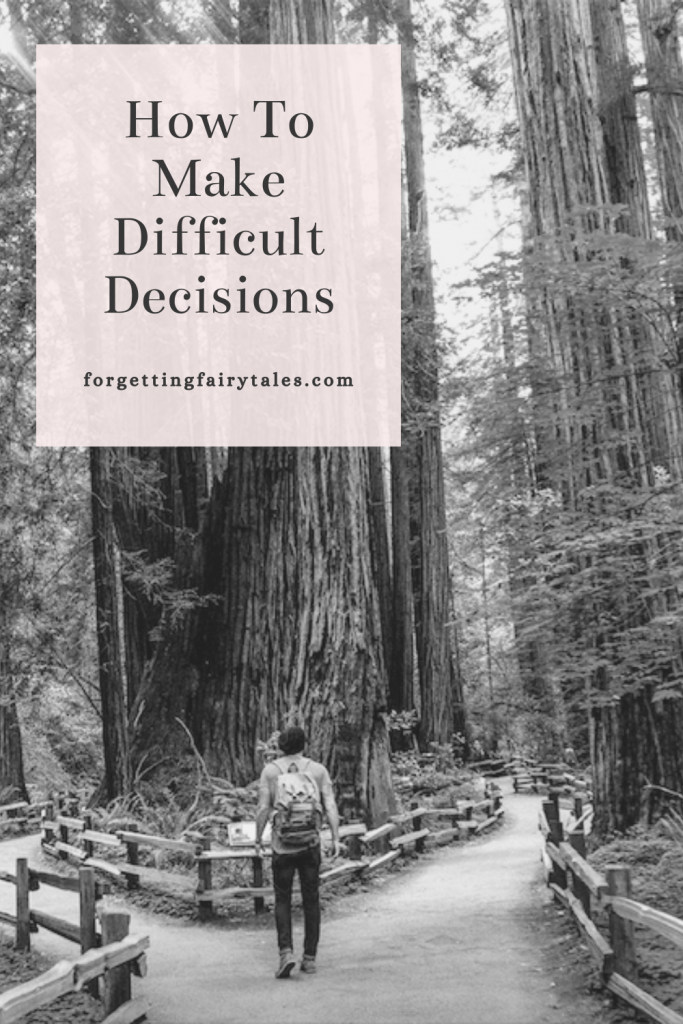 Difficult Decisions Pinterest
