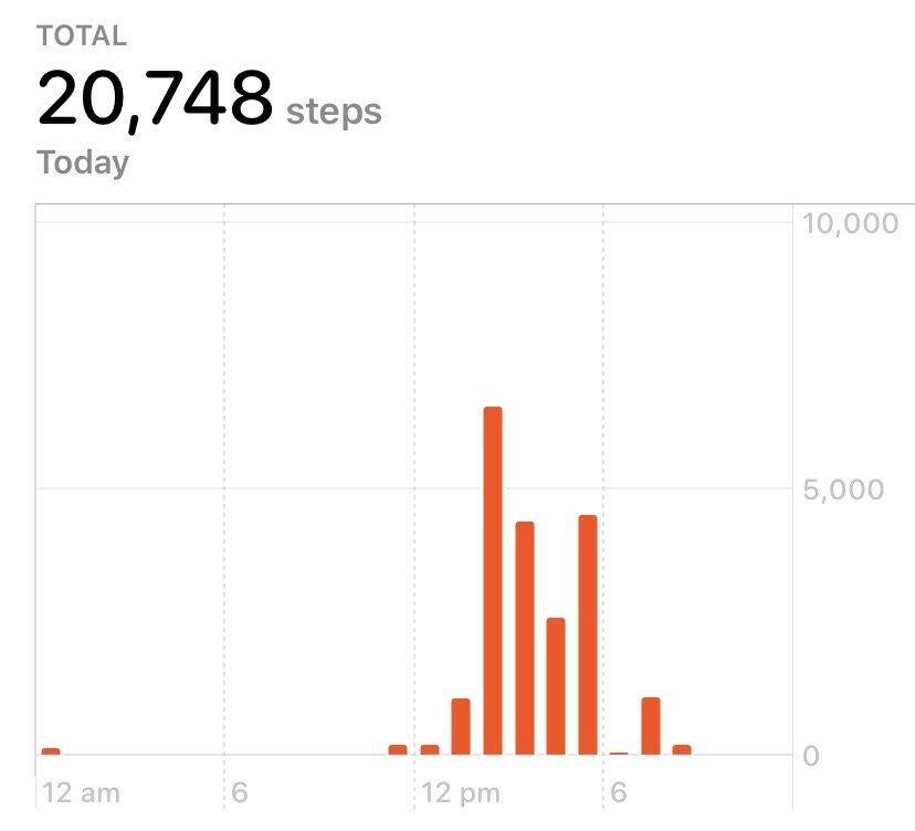 Saturday steps