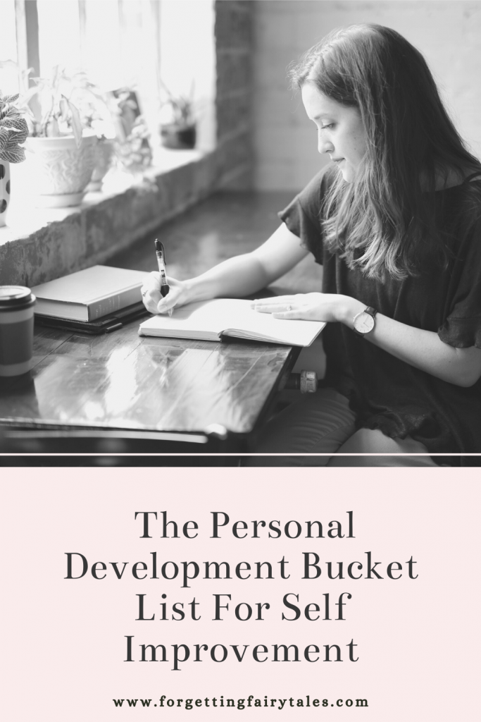 The Personal Development Bucket List For Self Improvement