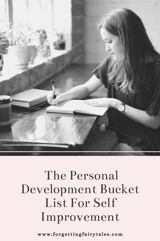 The Personal Development Bucket List For Self Improvement
