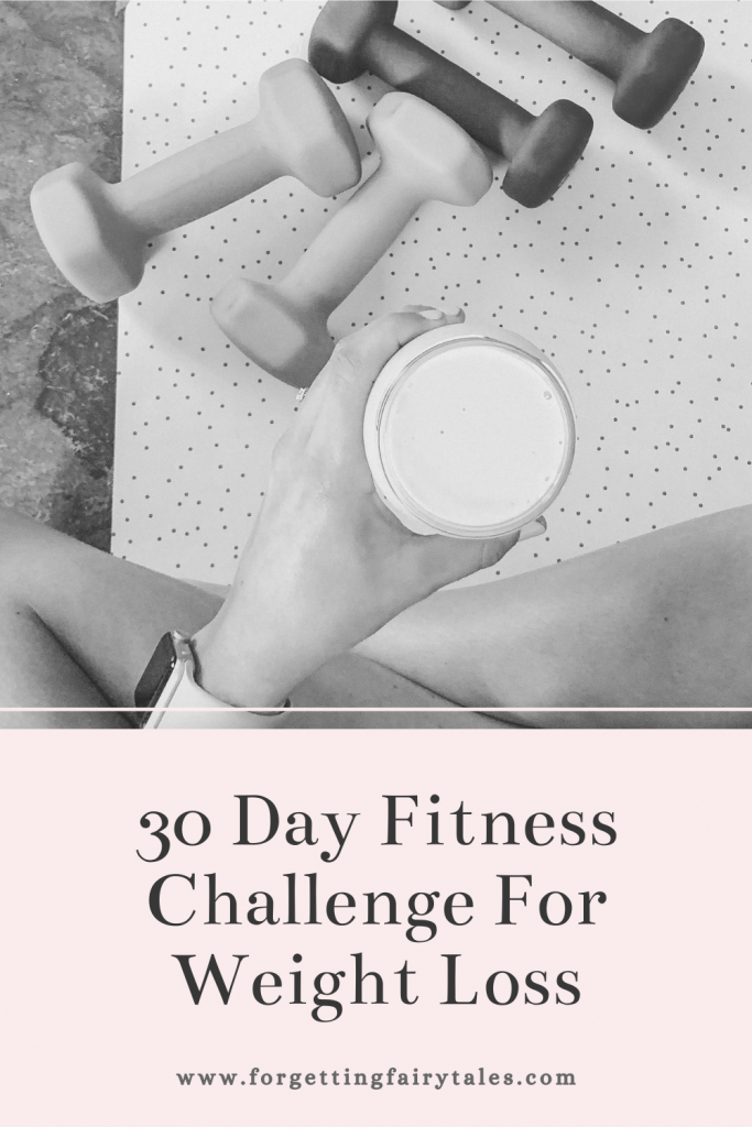 30 Day Food & Fitness Challenge