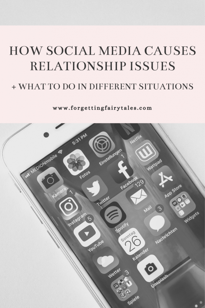 Social Media is Causing Relationship Issues