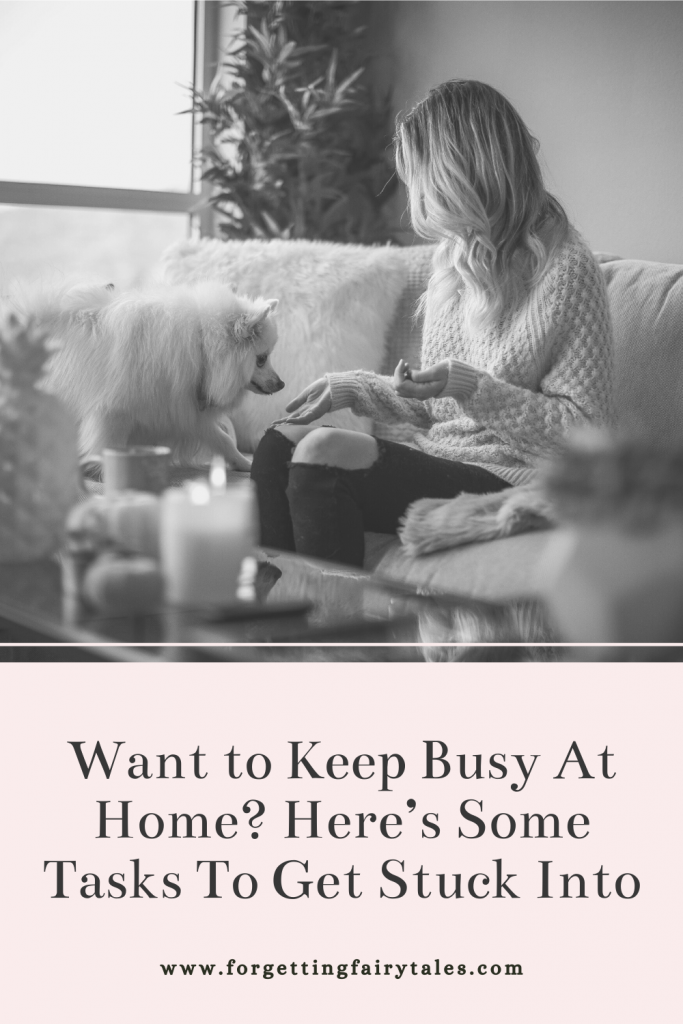 Keep Busy At Home