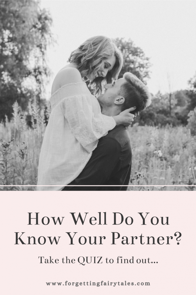 How well do you know your partner? Quiz