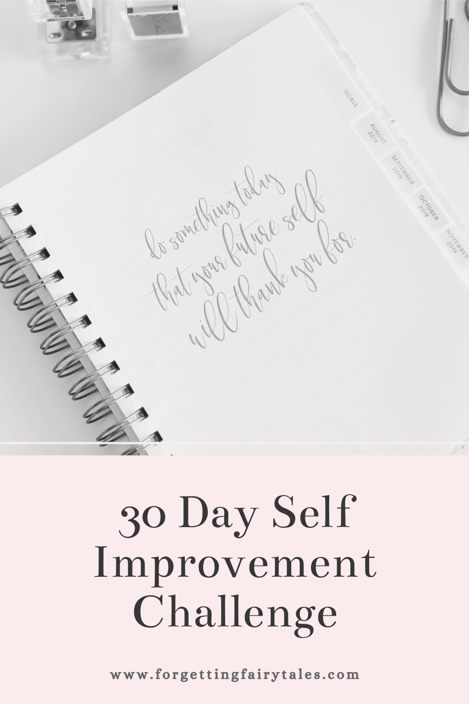 30 Day Self Improvement Challenge