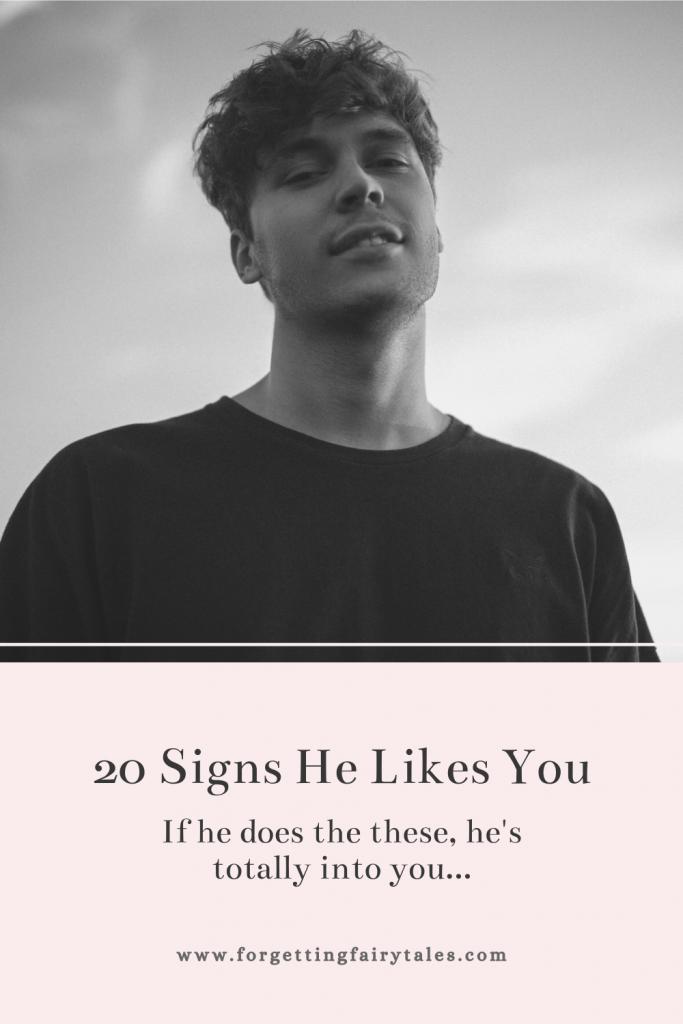 Guy likes you a sensitive signs Crazy Subconscious