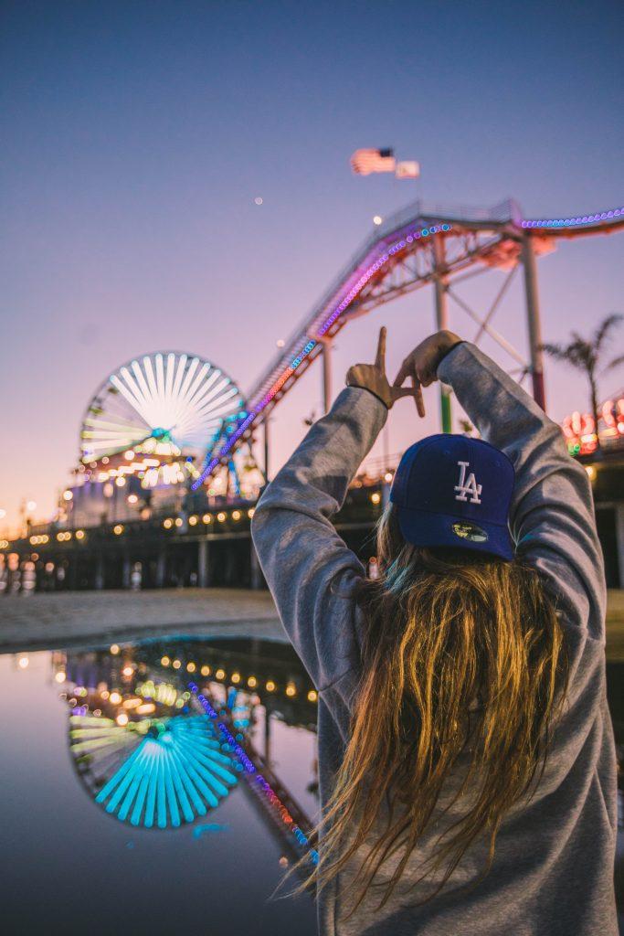 Amusement Park With Friends